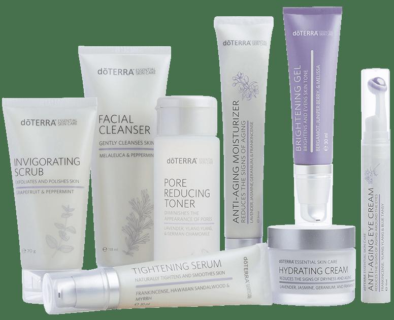 cura della pelle prodotti